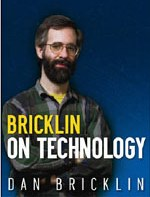 Bricklin on Technology book cover linked to Amazon